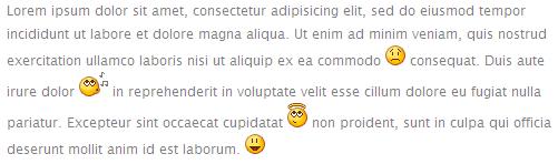 Adium Émoticônes Example