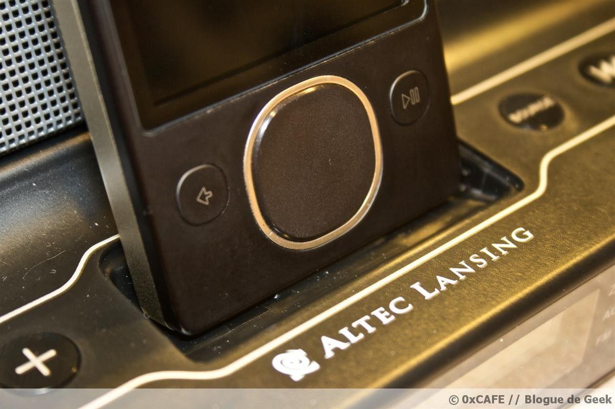 altec lansing inmotion im414 82 - [Évaluation] Haut-parleurs Altec Lansing inMotion iM414