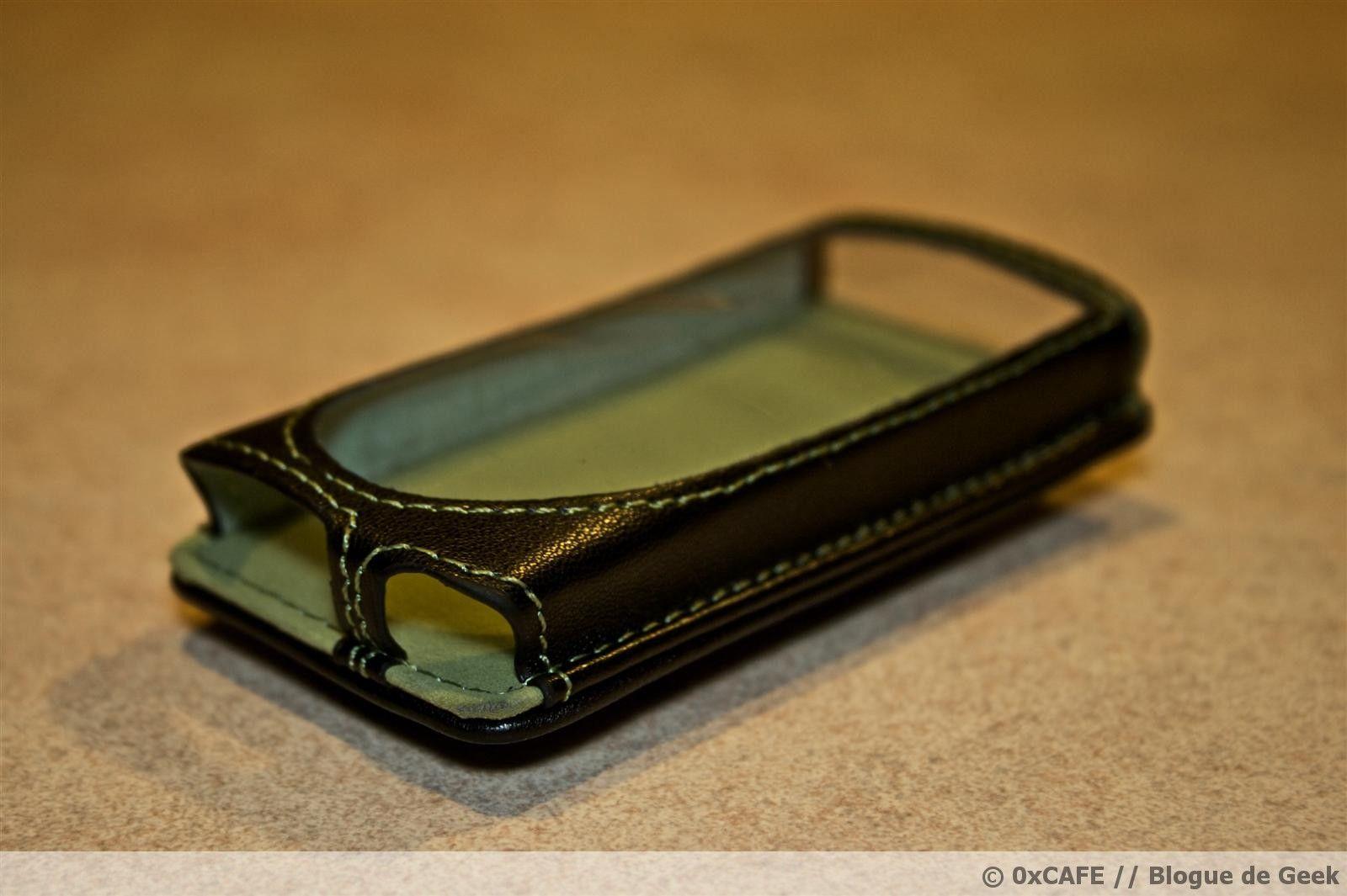 image 32 - [Évaluation] Étui de cuir HipCase de DLO pour le Zune 8Go