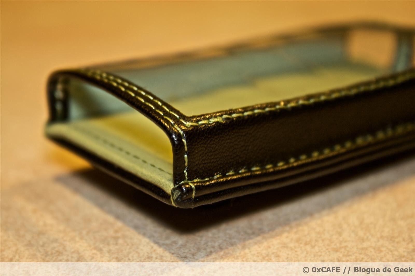 image 42 - [Évaluation] Étui de cuir HipCase de DLO pour le Zune 8Go