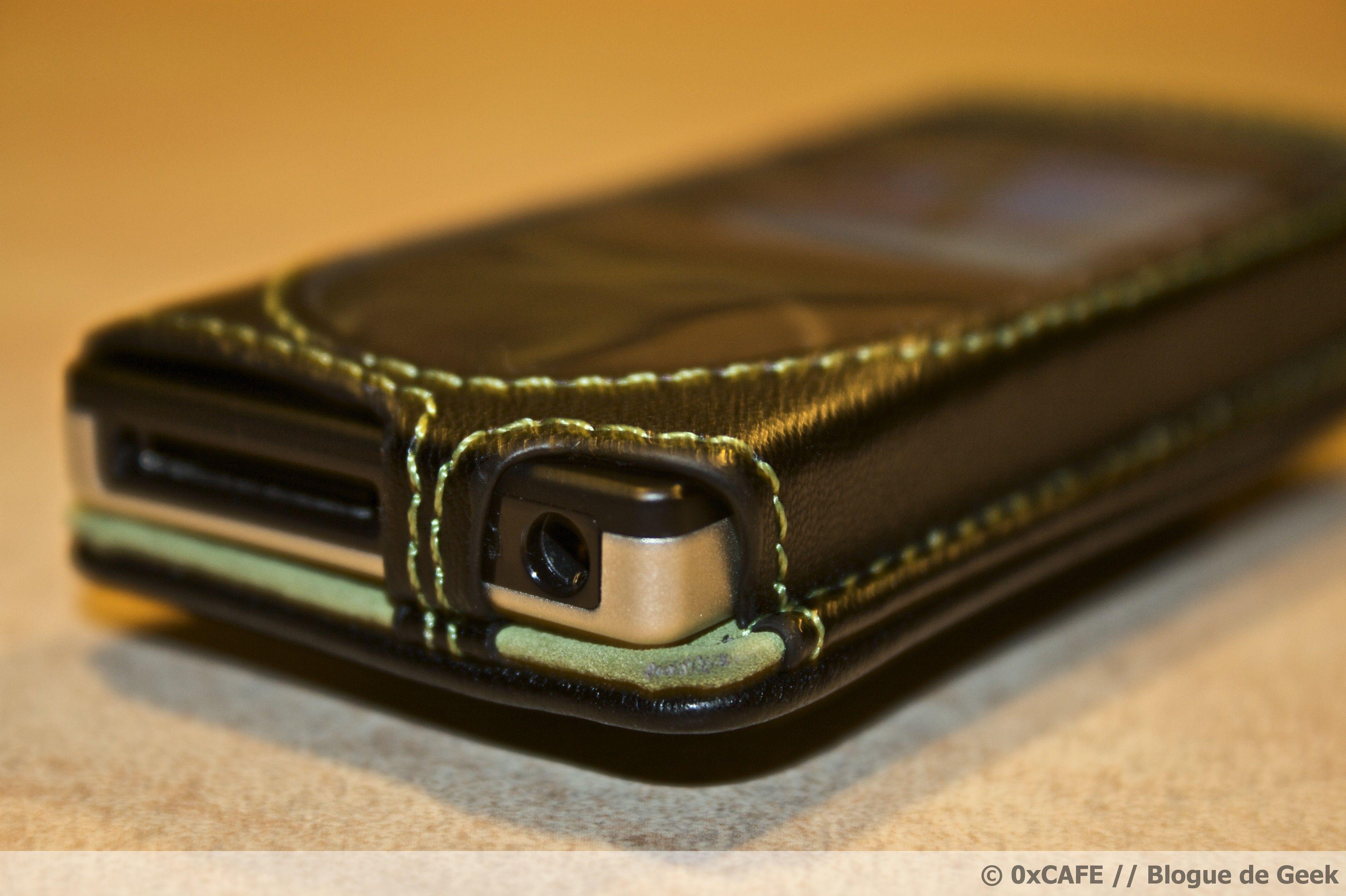 image 82 - [Évaluation] Étui de cuir HipCase de DLO pour le Zune 8Go