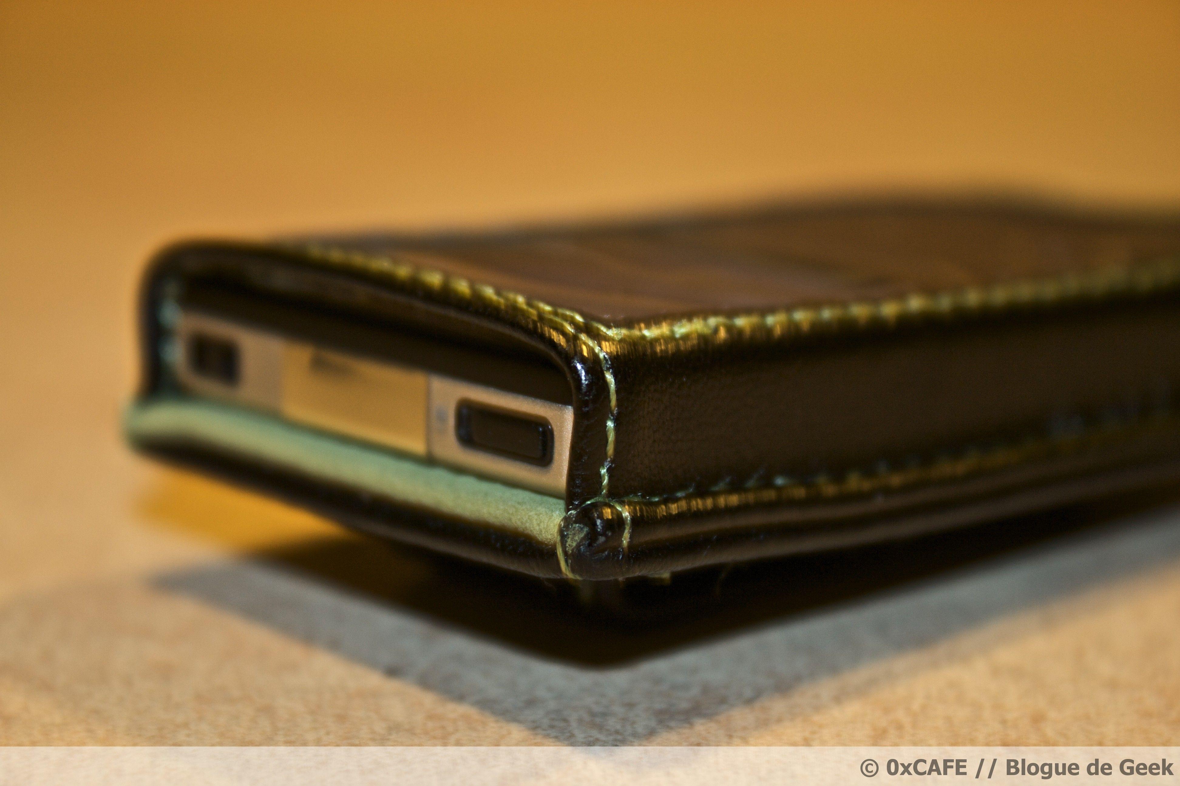 image 92 - [Évaluation] Étui de cuir HipCase de DLO pour le Zune 8Go