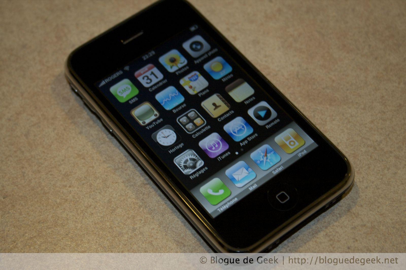img 25962 - iPhone 3G avec Rogers au Canada [Évaluation]