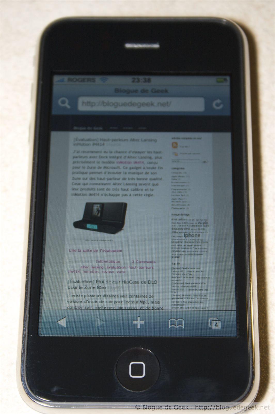 img 261812 - iPhone 3G avec Rogers au Canada [Évaluation]