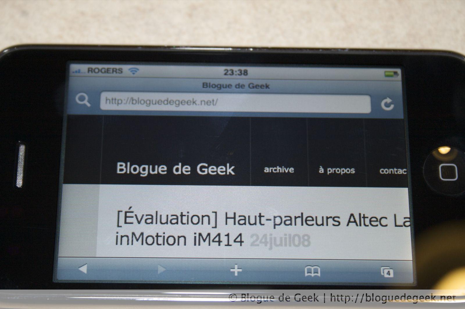 img 262112 - iPhone 3G avec Rogers au Canada [Évaluation]