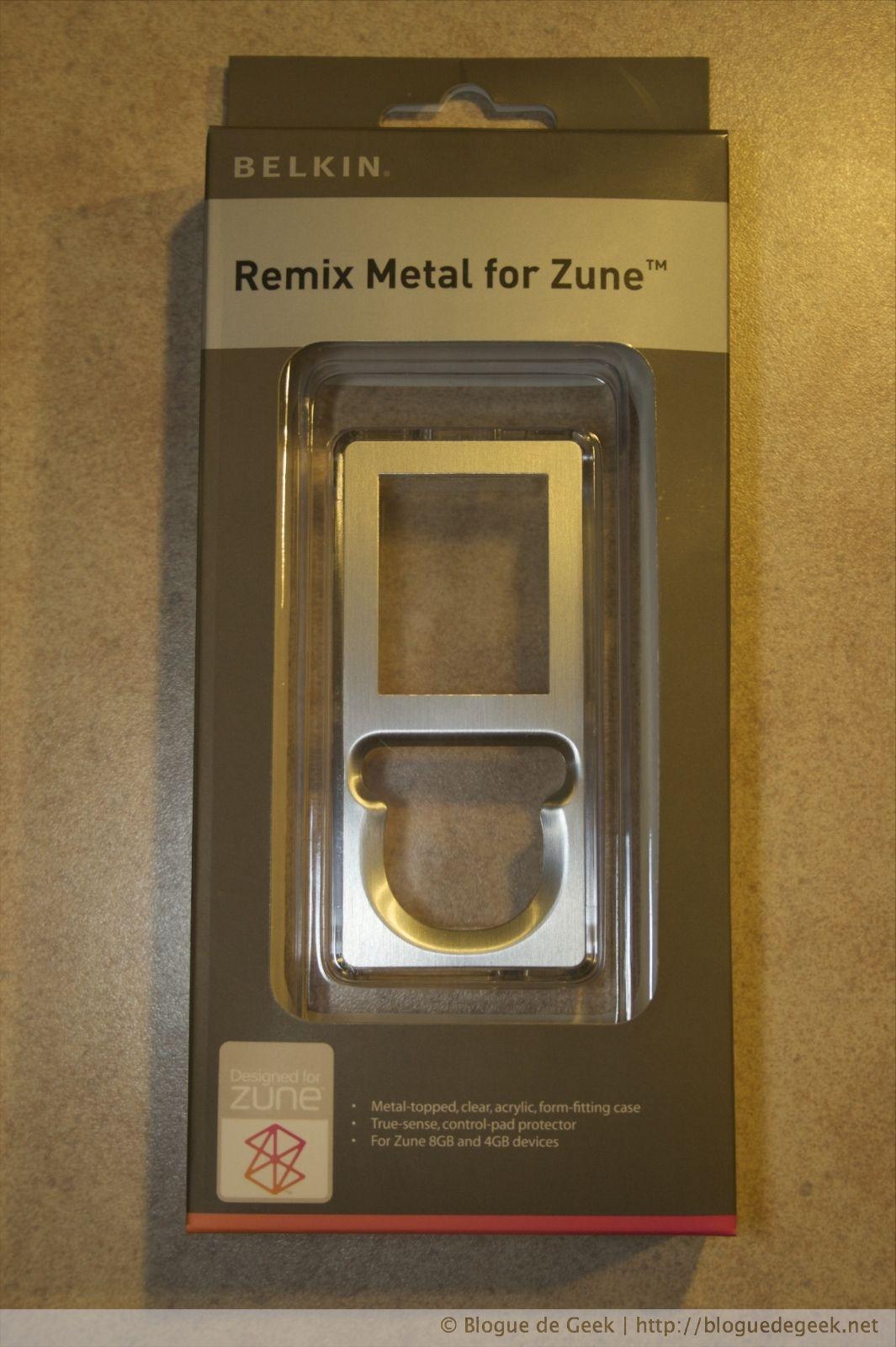 img 2634 22 - Belkin Remix Metal, étui en acrylique pour le Zune 4/8Go [Évaluation]