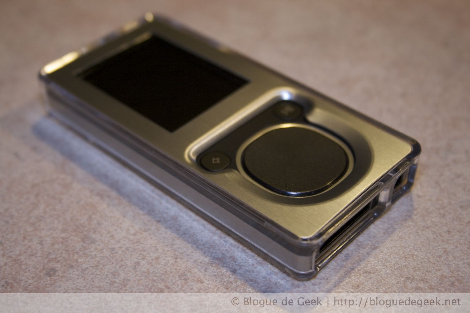 img 26432 - Belkin Remix Metal, étui en acrylique pour le Zune 4/8Go [Évaluation]