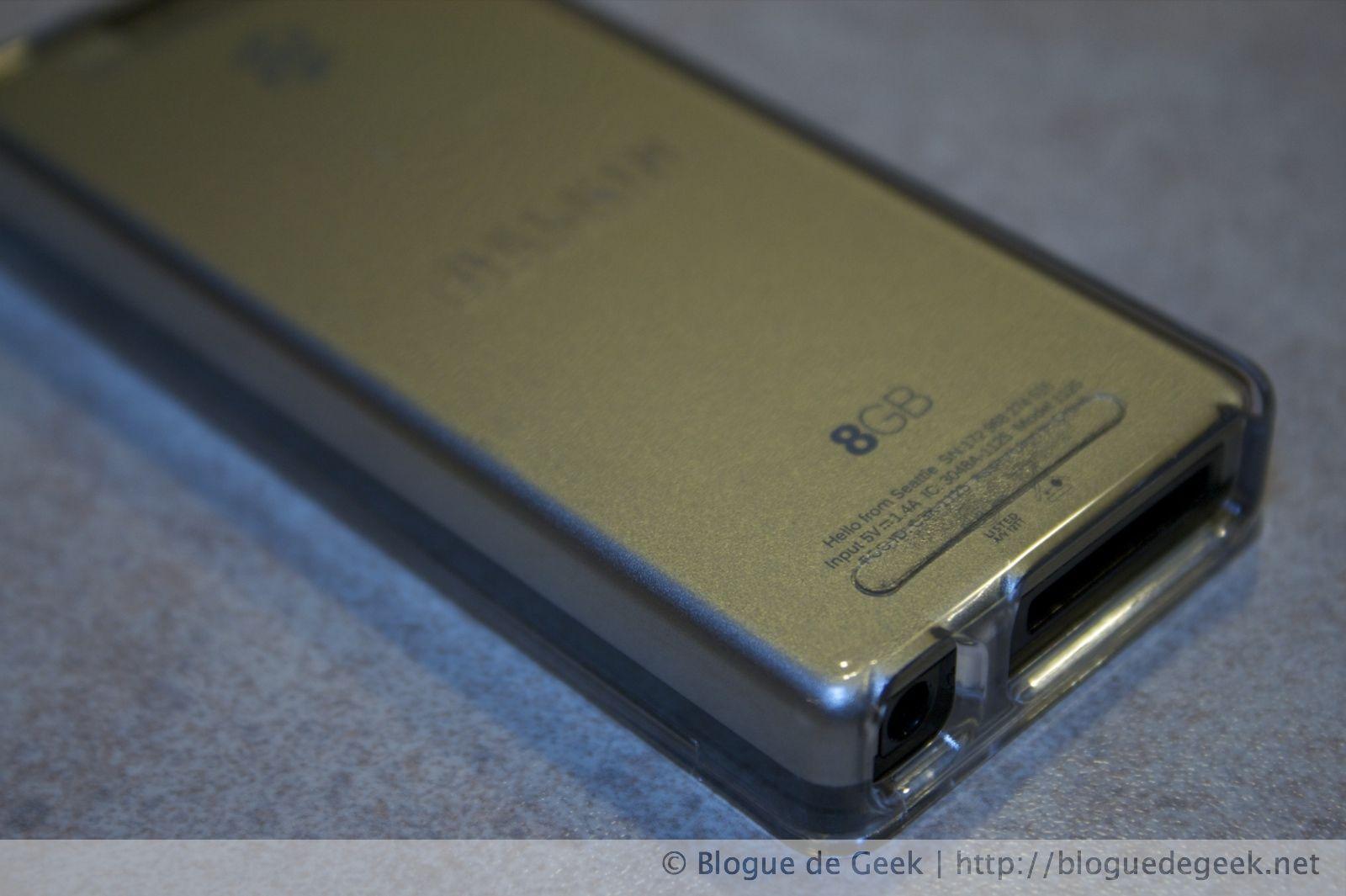 img 26472 - Belkin Remix Metal, étui en acrylique pour le Zune 4/8Go [Évaluation]