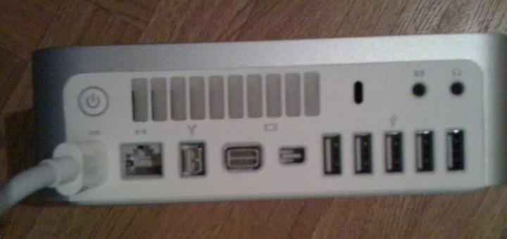Photo espion du prochain Mac Mini? [Rumeur]