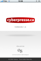 iphone cybrepresse 13 133x200 - Cyberpresse sur votre iPhone