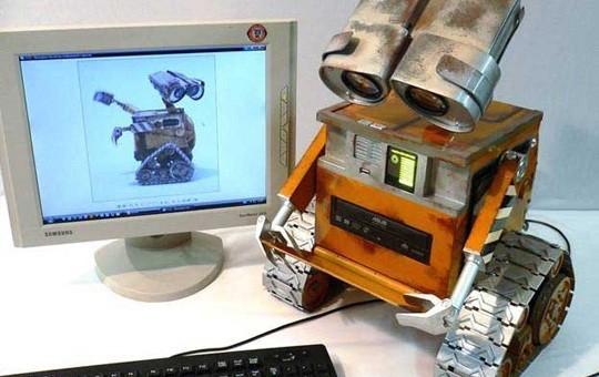 Modification de tour PC à la Wall-E