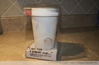 "IMG 5695 200x133 - ""I am not a paper cup"" par Decor Craft Inc. [Test]"
