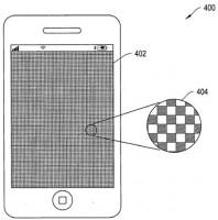 Schéma de brevet pour écran tactile