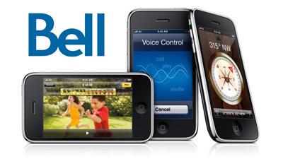 iPhone 3GS Chez Bell Mobilité :: Forfait internet illimité pour 15$