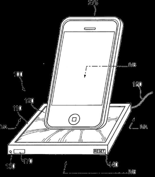 Dock universel à mémoire de forme d'Apple
