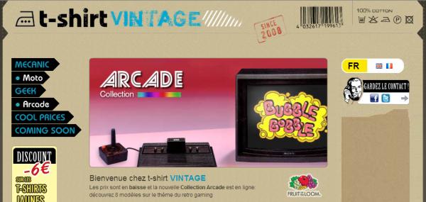 t shirt vintage 600x285 - T-Shirt Vintage pour les geeks