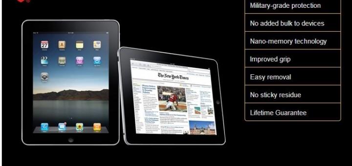 invisibleSHIELD disponible pour l'iPad, déjà?