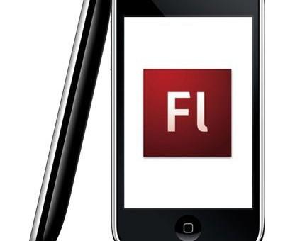 Le Flash enfin fonctionnel sur le iPhone!
