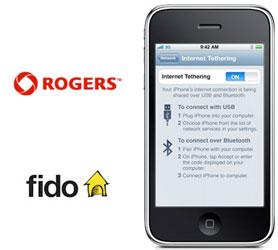 <em>Tethering</em> pour tous chez Rogers!