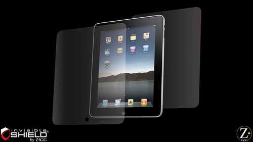 L'invisibleSHIELD pour iPad est disponible!