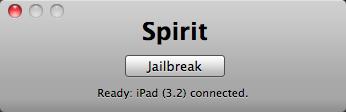 spirit ipad 2 - Comment jailbreaker son iPad avec Spirit [Tutoriel]