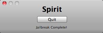 spirit ipad 3 - Comment jailbreaker son iPad avec Spirit [Tutoriel]