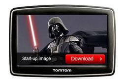 Darth Vader vous guide avec TomTom