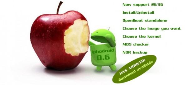 iphodroid android iphone 600x273 - Comment installer Android sur votre iPhone [Tutoriel]
