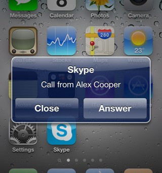 Skype s'exécute en arrière-plan! [Enfin!]