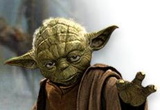 Après Darth Vader, Yoda vous guide sur la route!