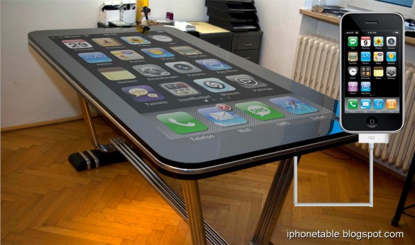 "phonetable 01 full 600x354 - Une table iPhone de 58""!"