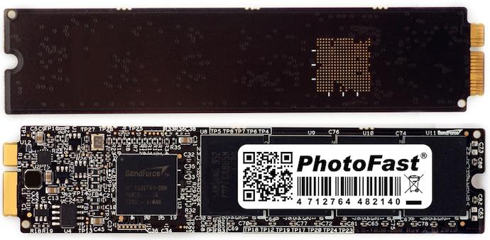 RIP disque SSD pour MacBook Air de PhotoFast