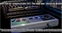 nes table 2 200x108 - Une vraie table à café manette de Nintendo fonctionnelle!
