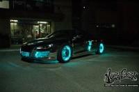 wcc tron night 003 200x132 - Une Audi R8 à la TRON:Legacy!