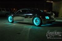 wcc tron night 005 200x132 - Une Audi R8 à la TRON:Legacy!