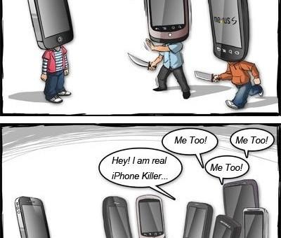 JE suis le tueur d'iPhone! [Humour]