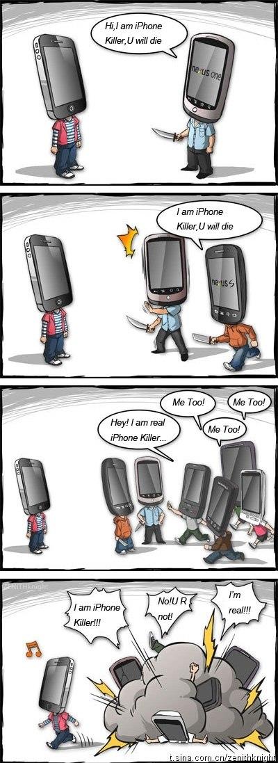 iphone killer - JE suis le tueur d'iPhone! [Humour]