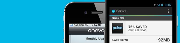 Onavo, mise à l'essai du compresseur de données cellulaires