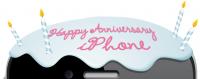 iphone anniv 200x79 - Bon 4e anniversaire iPhone! [Infographique]
