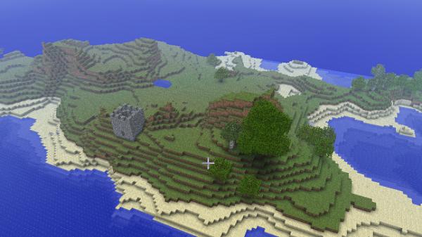 castleair 600x337 - Castle Defenders pour Minecraft 1.8.1 [Présentation]