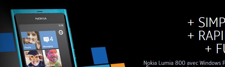Les Nokia Lumia 800 et Lumia 710 [Présentation]