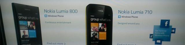Voici les premiers téléphones WP7 de Nokia?