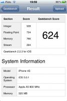 GeekBench iOS 2 133x200 - iPhone 4S [Test]