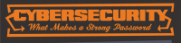 Mot de passe sécuritaire - Entête