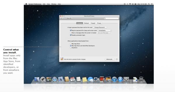 gatekeeper 600x317 - Mac OS Mountain Lion, quoi de neuf?