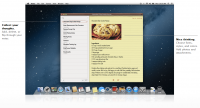 notes 200x108 - Mac OS Mountain Lion, quoi de neuf?