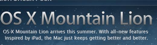 osx 520x150 - Mac OS Mountain Lion, quoi de neuf?