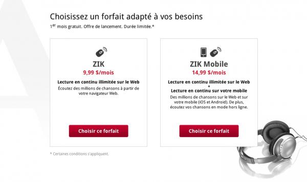 Screen Shot 2012 04 18 at 10.59.27 PM 600x356 - Zik.ca: Enfin une plateforme en flux continu québécoise [Test]
