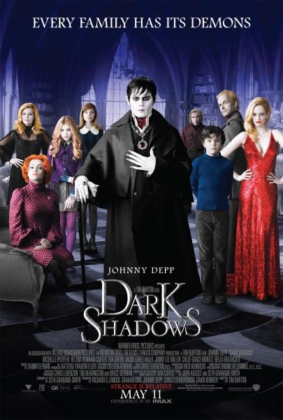 dark shadows review 405x600 - Dark Shadows : Le retour de Tim Burton et de Johnny Depp