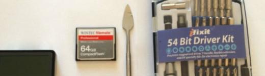 entete2 520x150 - Remplacer le disque de son Zune ou iPod par une carte CompactFlash [Tutoriel]